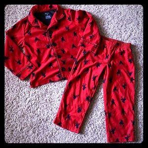 Carters Christmas pajamas 3t